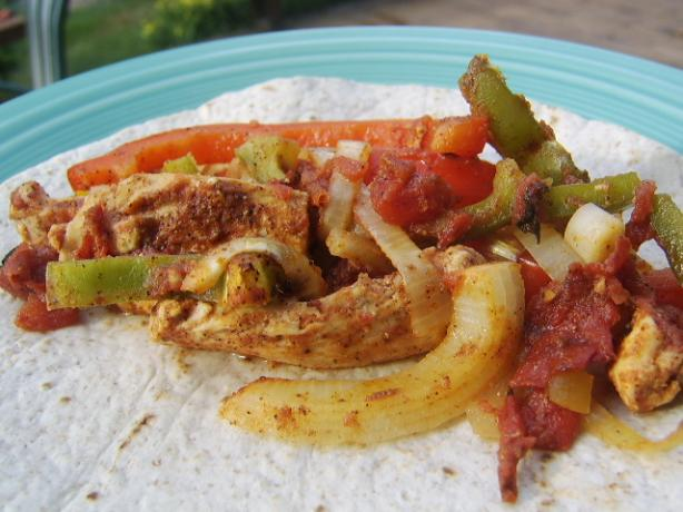Baked Chicken Fajitas. Photo by LifeIsGood