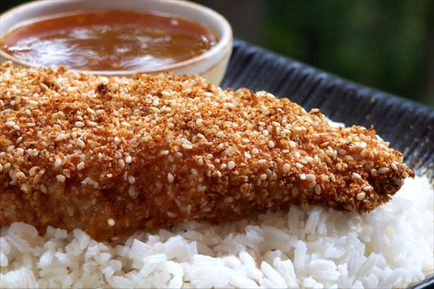 Easy Sesame Chicken With Apricot Sauce. Photo by NcMysteryShopper