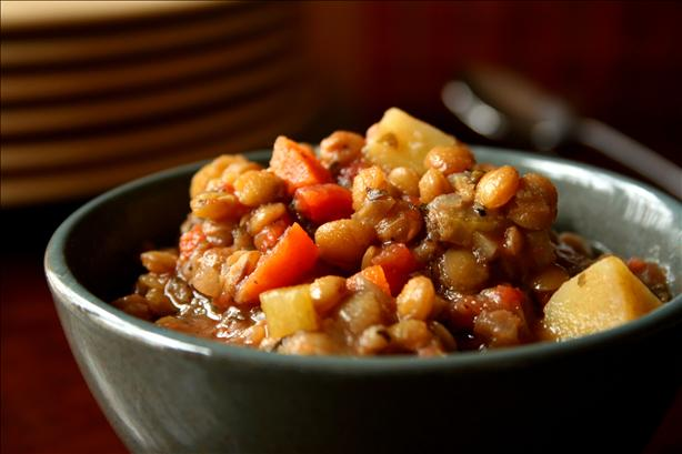 Easy Lentil Stew. Photo by GaylaJ