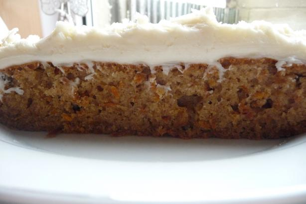 Sourdough Carrot Cake. Photo by Tea Jenny
