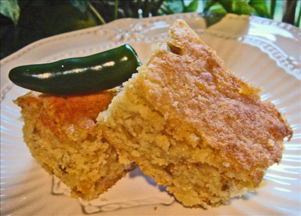 Palo Verde's Green Chile Cornbread. Photo by Bev