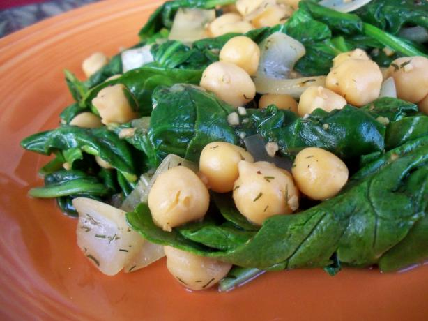 Greek Chickpeas & Spinach. Photo by *Parsley*