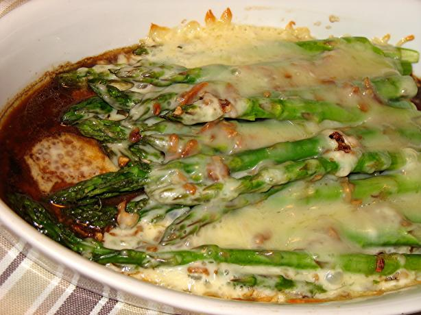 Asparagus Supreme. Photo by Lori Mama