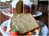 Pumpkin Chiffon Cake