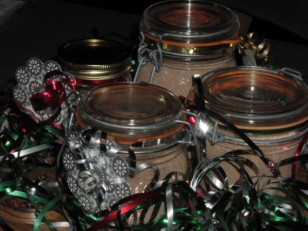 Creamy Hot Chocolate Mix in a Jar (For Gift-Giving). Photo by TeresaS