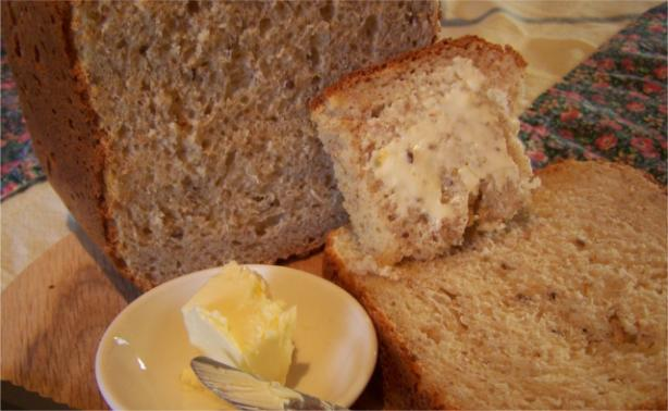 Farmhouse White Multi-Grain Cheese Bread - Bread Machine. Photo by wicked cook 46