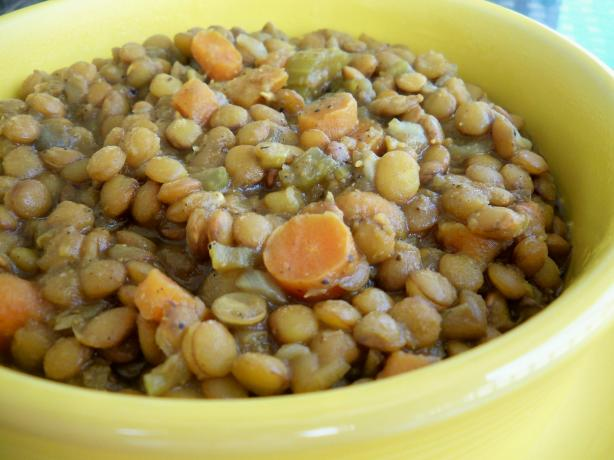 Curried Lentils and Vegetables. Photo by *Parsley*