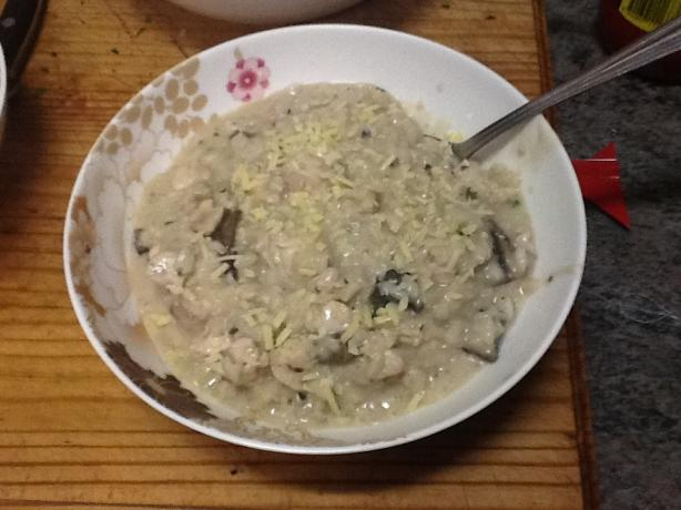 Chicken & Mushroom Risotto. Photo by PrincessTanya