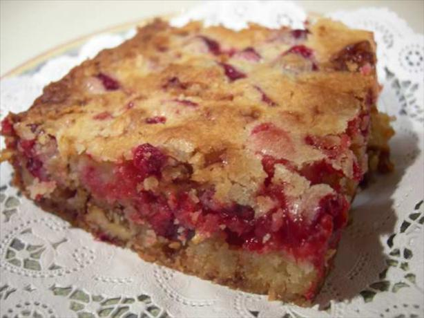Cranberry Squares. Photo by Divaconviva