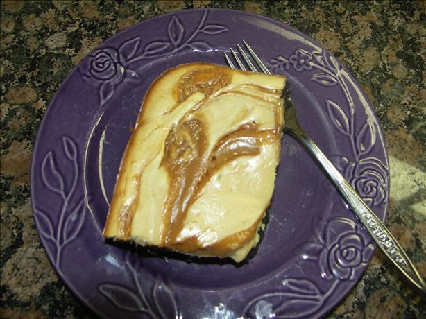 Caramel Swirl Cheesecake Brownies. Photo by Juenessa