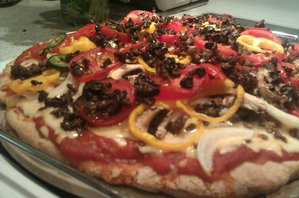 Spelt Pizza Crust (Wheat-Free). Photo by tonyadahl