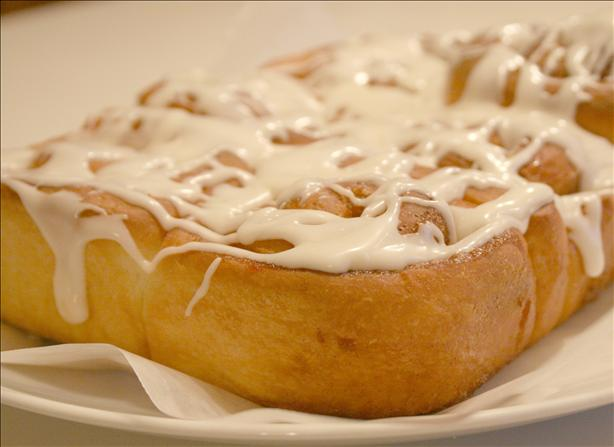 Cinnamon Bun Icing. Photo by Cookin-jo