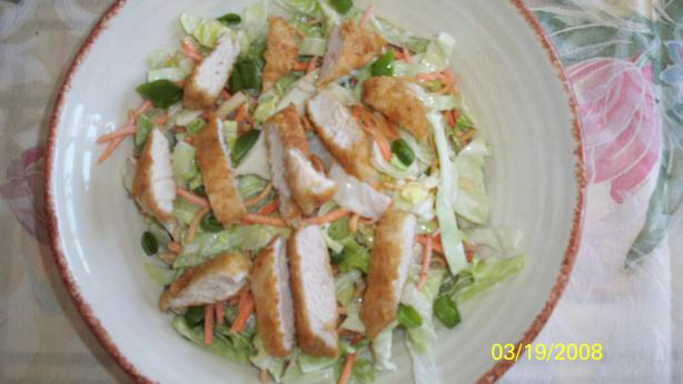 Applebee&#39;s Oriental Chicken Salad. Photo by BakingGuru
