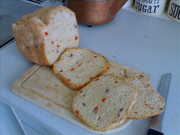Red Pepper & Red Onion Bread (Abm / Machine). Photo by Ethan UK