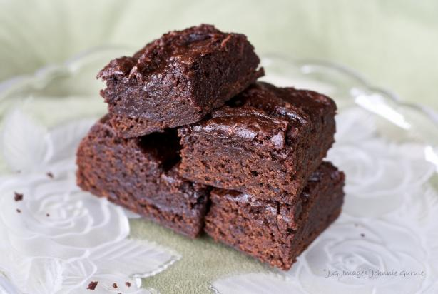 Vegan Brownies. Photo by The Veganista