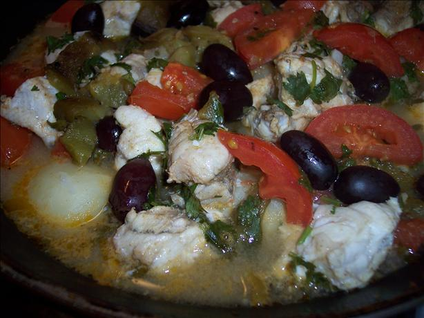 Tagine of Monkfish. Photo by Hey Jude
