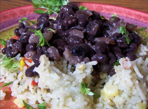 Simple Simple Simple! Black Beans and Onions. Photo by Rita~
