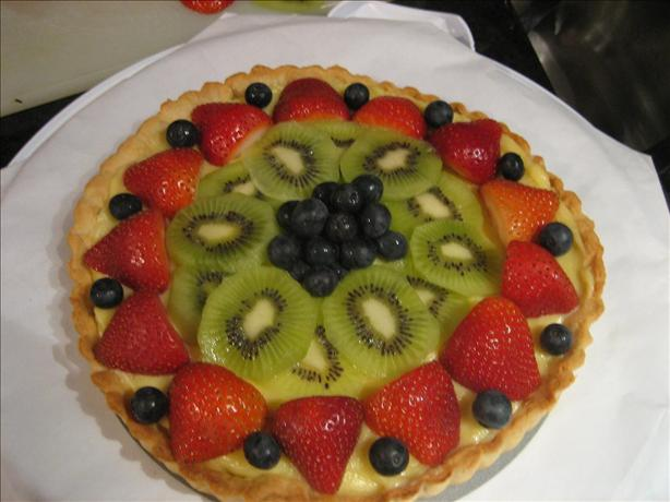 Fresh Fruit Tart. Photo by *-Sabrina-*