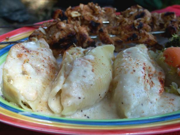 Chicken Stuffed Shells. Photo by Marsha D.
