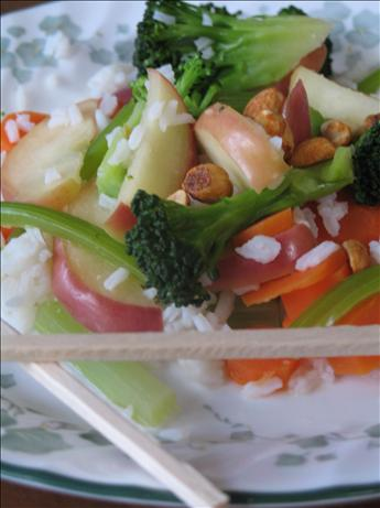Vegetarian Apple Stir-Fry. Photo by superblondieno2