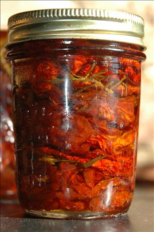 Sun-Dried Tomatoes in Olive Oil. Photo by Sweetiebarbara