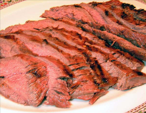 Flank Steak With Lime Marinade. Photo by PanNan