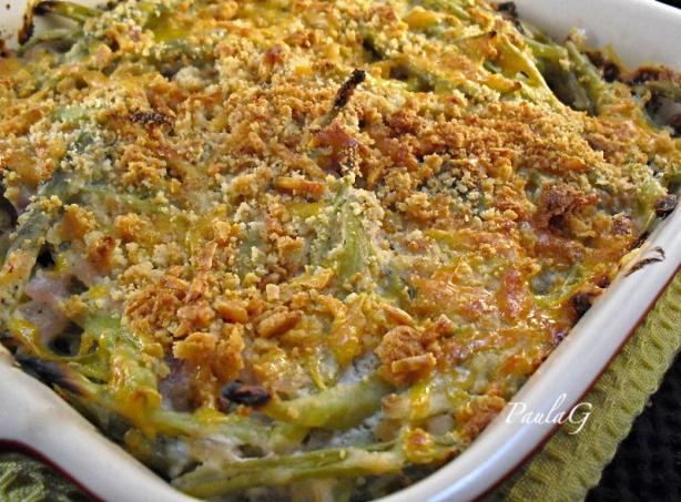 Green Bean Casserole - No Canned Onions or Soup. Photo by PaulaG