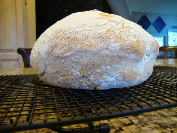 No-Knead Bread. Photo by JulieCHopp