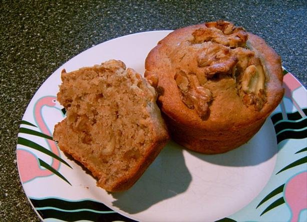 V's Famous Makeover Banana Nut Muffins. Photo by Mikekey