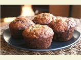 Baker's Chocolatey Banana Muffins