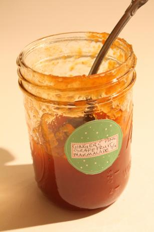 Pink Grapefruit Marmalade. Photo by sevimel