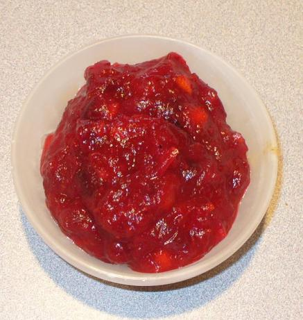 Apple-Orange Cranberry Sauce. Photo by buckinfun