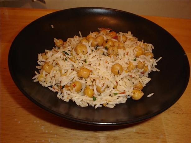 Chickpeas and Rice. Photo by Chef #432668