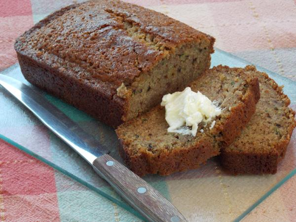 Chelle&#39;s Zucchini Bread. Photo by Lavender Lynn
