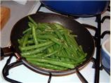 String/Green Beans W/Ginger and Garlic