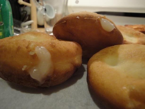 Dunkin Donuts Vanilla Filled Doughnuts (Copycat). Photo by Cynna