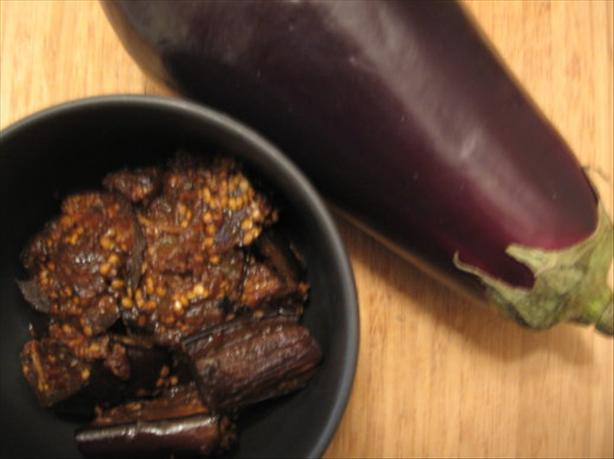 Eggplant (Aubergine) Adobo. Photo by Engrossed