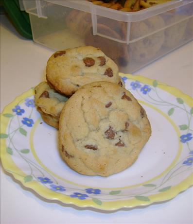 Easiest Stay Soft Chocolate Chip Cookies That Ship Well. Photo by KennKonn