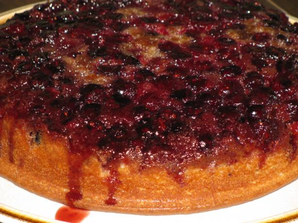 Cranberry Upside Down Cake. Photo by Shelby Jo