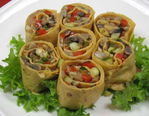 Grilled Vegetable Roll-Ups. Photo by dianegrapegrower