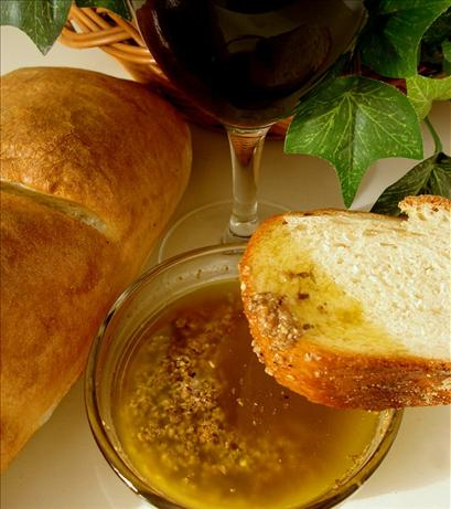 Parmesan and Garlic Dipping Oil. Photo by Marg (CaymanDesigns)