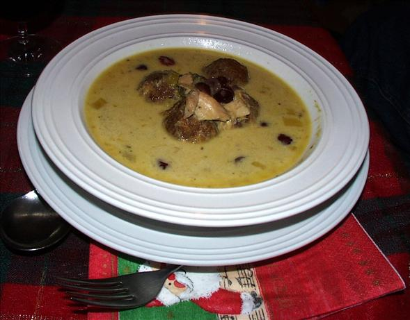 Christmas Dinner Soup - Modified by Twissis. Photo by twissis