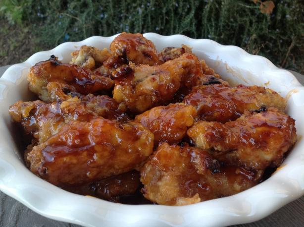 Sweet and Sour Chicken Wings. Photo by AZPARZYCH