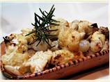 Roasted Cauliflower & Roasted Garlic With Pearl Onions