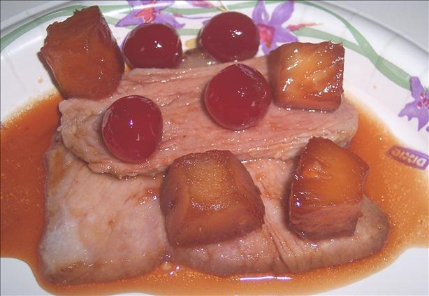 Cherry Pineapple Holiday Ham Glaze. Photo by looneytunesfan