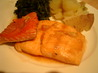 Peking Salmon Maple and Ginger