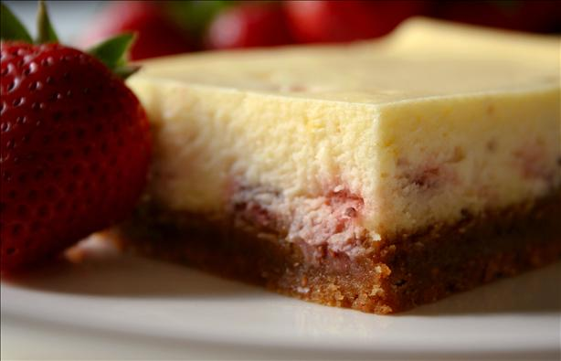 Wilton's Strawberry Cheesecake Squares. Photo by GaylaJ