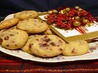 Cranberry Chocolate Shortbread. Recipe by Calee