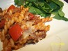 Pasta With Ground Beef and Tomato. Recipe by MTpockets