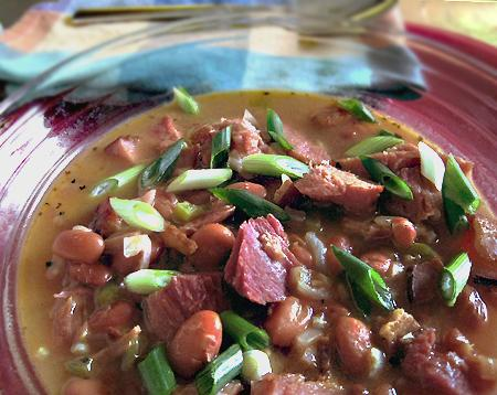 Pinto Bean Soup. Photo by Caroline Cooks